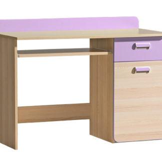 LORENTO, stůl L10, jasan/fialová