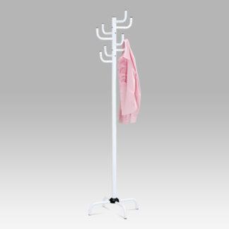 Věšák 80609-A WT, v. 182 cm, vysoký lesk bílý