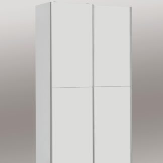 OHIO, šatní skříň OHS722X4, bílá