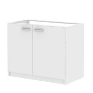 Skříňka dvoudveřová pod dřez SMART 22, bílá