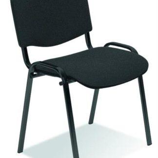 Konferenční židle ISO, tmavě šedá