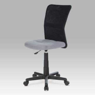 Kancelářská židle KA-2325 GREY, šedá / černá
