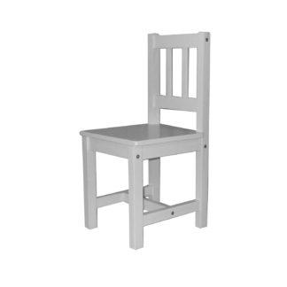 Dětská židle 8867, bílý lak