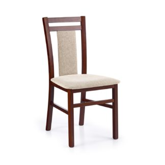 Jídelní židle HUBERT 8, ořech tmavý