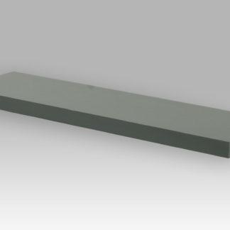 Nástěnná polička P-005 GREY, 80cm, barva šedivá - vysoký lesk