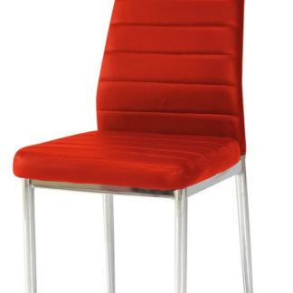 Jídelní židle H-261, červená