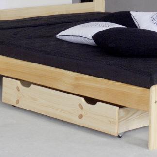 Úložný prostor pod postel 98 cm, masiv borovice