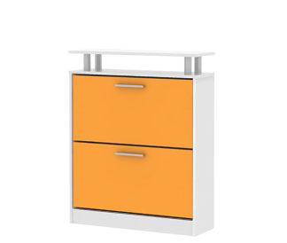 SOFIE botník SO 02, bílá/oranžová ZRUŠENO
