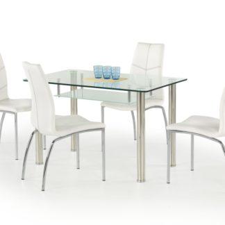 Jídelní stůl OLIVIER, kov/sklo