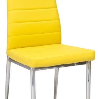 Jídelní židle H-261, žlutá