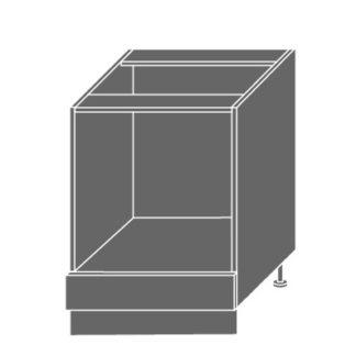 EMPORIUM, skříňka dolní D11k 60, korpus: lava, barva: light grey stone