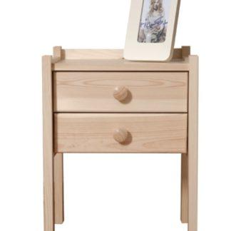 Noční stolek IDA, masiv borovice, moření: ...