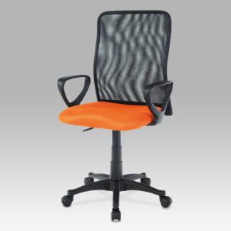 Kancelářská židle KA-B047 ORA, oranžová