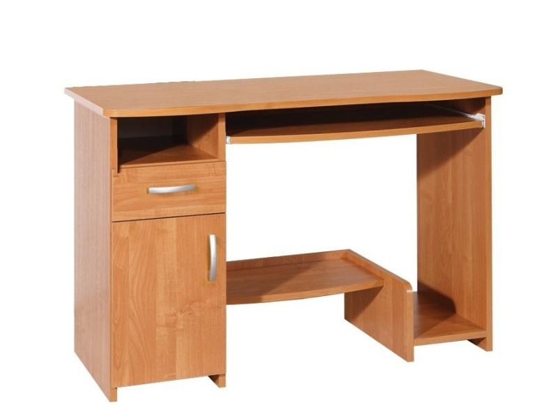 PC stůl se skříňkou KIER, barva: