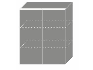 EMPORIUM, skříňka horní W3 60, korpus: lava, barva: light grey stone