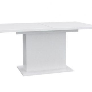 Jídelní rozkládací stůl EST42, bílý
