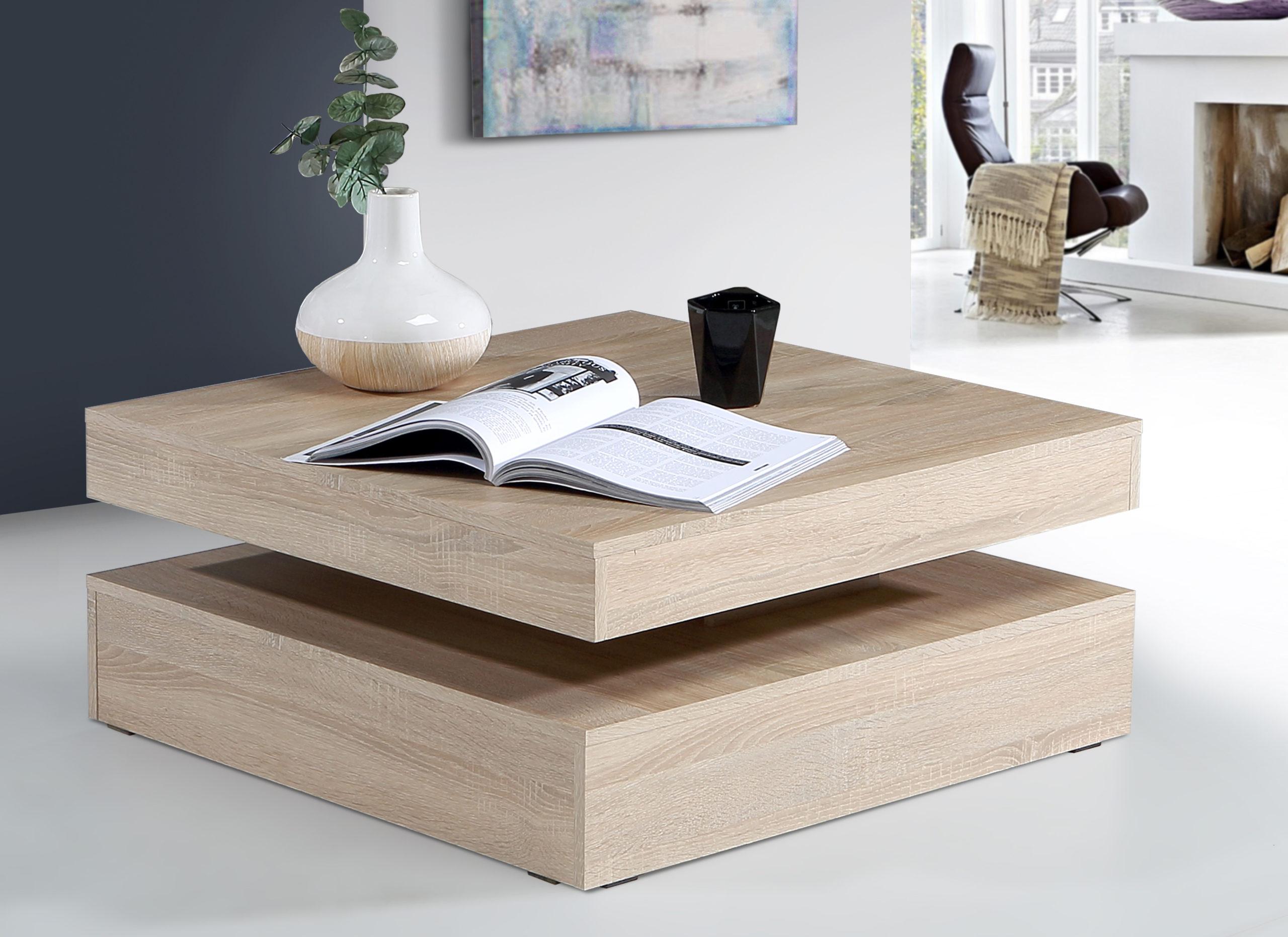 Konferenční stolek COFFEE TABLE, dub sonoma