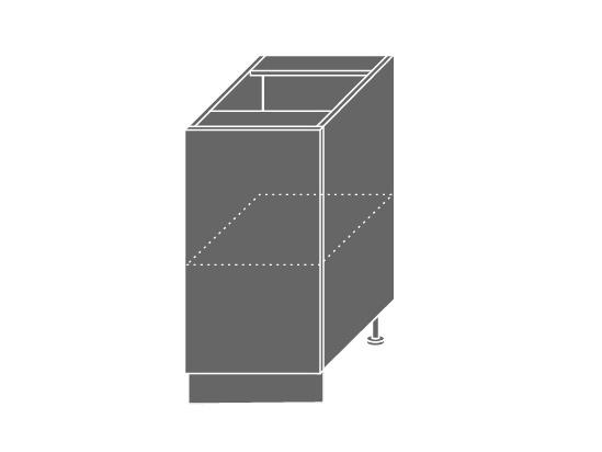 EMPORIUM, skříňka dolní D1D 40, korpus: grey, barva: light grey stone
