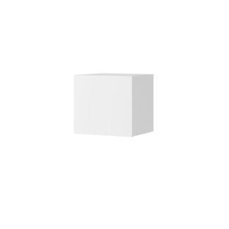 CALABRINI malá závěsná skříňka, bílá