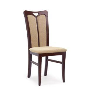 Jídelní židle HUBERT 2, ořech tmavý