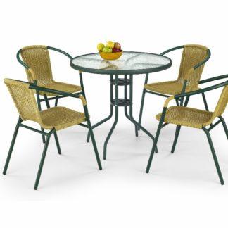 Stůl GRAND 80, tmavě zelený