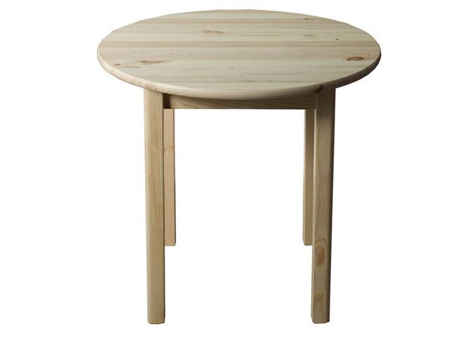 Stůl  průměr 100 cm nr.3, masiv borovice/moření: ...