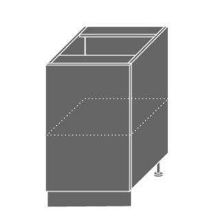 EMPORIUM, skříňka dolní D1D 50, korpus: jersey, barva: white