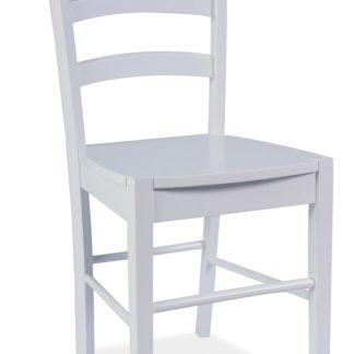 Jídelní dřevěná židle CD-38, bílá