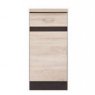 JUNONA LINE, skříňka dolní 40 cm, pravá, dub sonoma