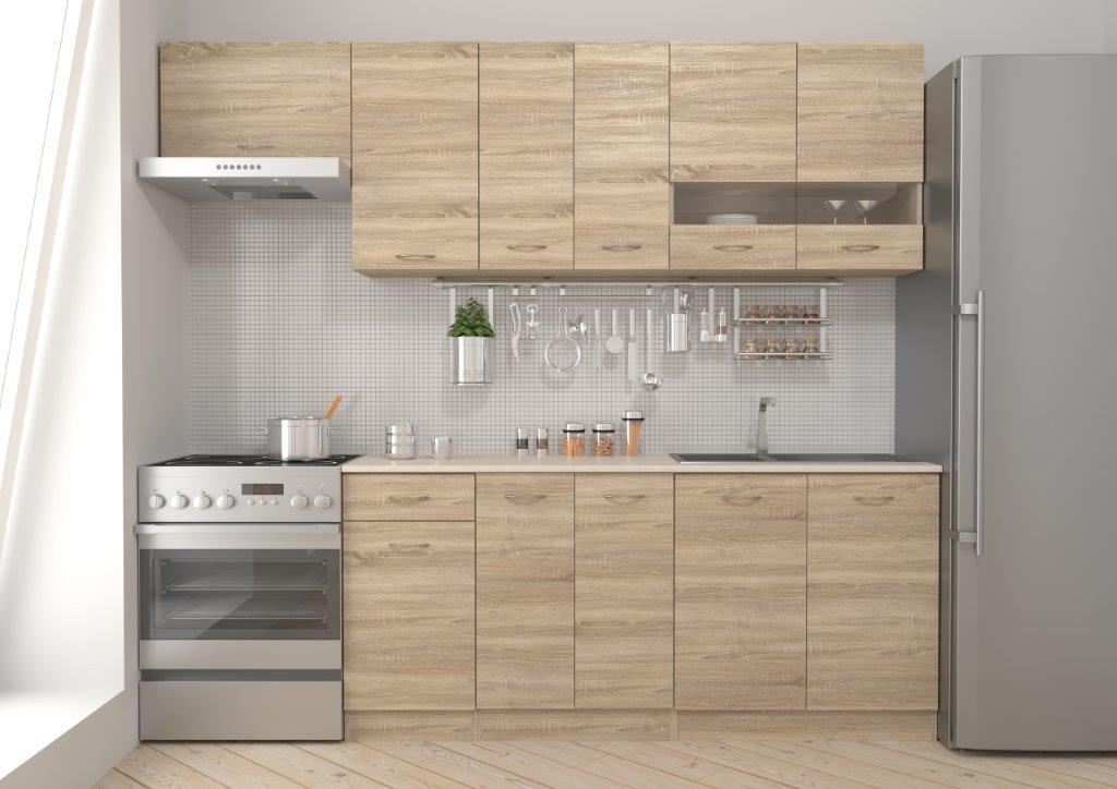 Kuchyně RAMONA 180/240 cm, dub sonoma