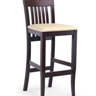 Barová židle MIX HOKER, ořech tmavý