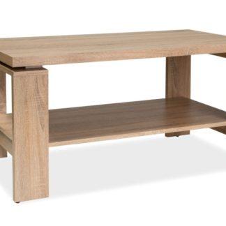 Konferenční stolek PAOLA, dub sonoma