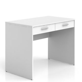 Psací stůl se šuplíky NEPO BIU2S , bílá