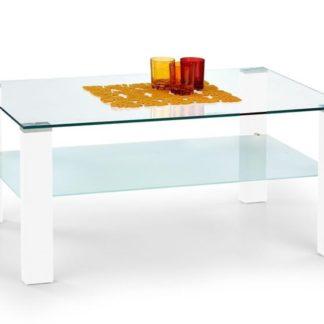 Konferenční stolek SIMPLE, bílý lak