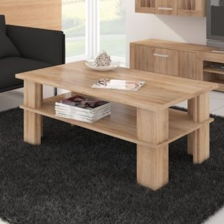 Konferenční stolek FUTURA 2, dub sonoma