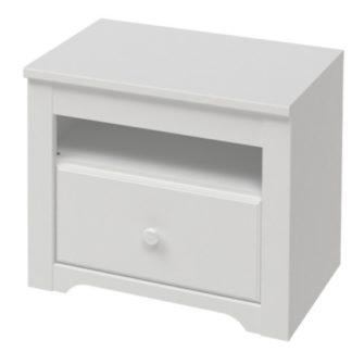 FOR YOU noční stolek typ 27, bílá arctic