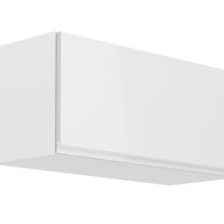 ASPEN, skříňka horní nízká G80K, bílá/bílý lesk
