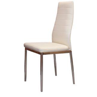 Jídelní židle MILÁNO, krémová