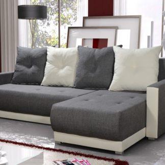 Rohová sedačka INSIGNIA BIS 9, šedá/krémová