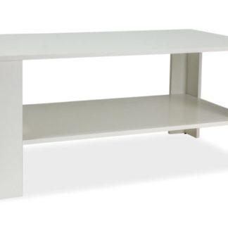 Konferenční stolek ARIEL, bílá