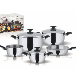 Set nádobí GOURMET, nerezová ocel