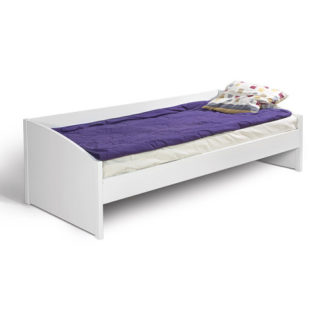 HAPPY, postel KR BOK, bílá