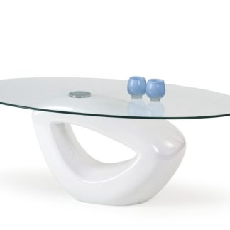 Konferenční stolek JASMIN, bílý