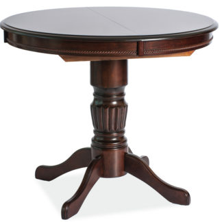 Jídelní stůl MARGO rozkládací, tmavý ořech