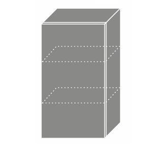 PLATINUM, skříňka horní W2 40, korpus: grey, barva: camel