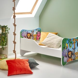Dětská postel HAPPY JUNGLE, vícebarevná