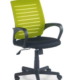 Kancelářská židle SANTANA, černá/zelená