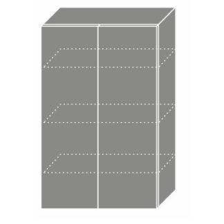 EMPORIUM, skříňka horní W4 60, korpus: bílý, barva: light grey stone