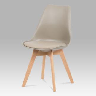 Jídelní židle CT-752 LAT, latte / masiv buk