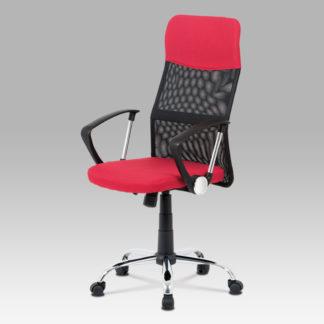 Kancelářská židle KA-V204 RED, červená/černá
